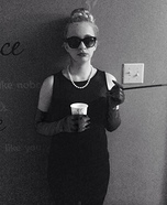 Audrey Hepburn in Breakfast at Tiffany's Homemade Costume