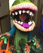 Audrey II from Little Shop of Horrors Homemade Costume