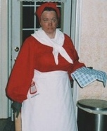 Aunt Jemima Homemade Costume