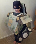 Homemade Transformer Costume