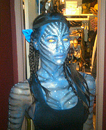 Avatar movie Neytiri costume