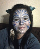 DIY Avatar Halloween Costume