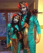 Avatar Couple Homemade Costume