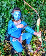 Avatar Girl Homemade Costume