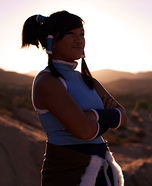 Avatar Korra Homemade Halloween Costume