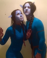 Avatars Jake Sully & Neytiri Homemade Costume