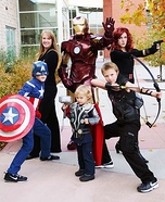 Family costume ideas - Avengers Family Costume