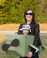 Aviator Pilot Baby Homemade Costume