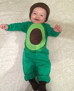 Avocado Baby Homemade Costume
