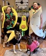 Avocado Theme Homemade Costume