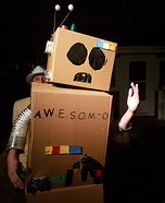 A.W.E.S.O.M.-O Homemade Costume