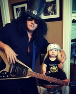 Axl and Slash Homemade Costume