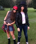 Axl n Slash Homemade Costume