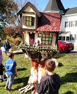 Baba Yaga & her Moving House Homemade Costume