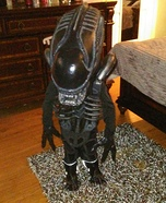 Baby Alien Xenomorph Homemade Costume