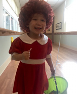 Baby Annie Homemade Costume