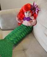 Baby Ariel Homemade Costume
