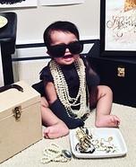 Baby Audrey Hepburn Homemade Costume