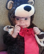 Cute Baby Bear Costume