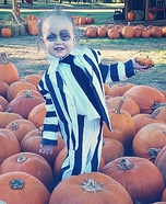 Baby Beetlejuice Homemade Costume