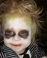 Baby Beetlejuice Halloween Costume Idea
