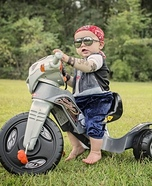 Baby Biker Homemade Costume