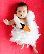 Costume ideas for baby's first Halloween - Baby Bjork Swan Dress Halloween Costume