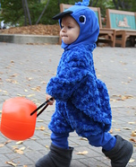Blue Macaw Homemade Costume for Babies