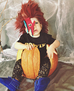 Baby Bowie Homemade Costume