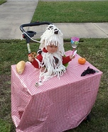 Baby Bowl of Spaghetti and Meatballs Costume