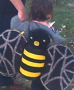 Homemade Bumblebee costume