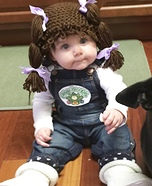 Baby Cabbage Patch Doll Homemade Costume