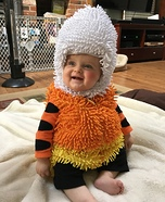 Baby Candy Corn Homemade Costume