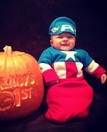 Baby Captain America Costume