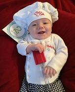Baby Chef Homemade Costume