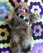 DIY Baby Chewbacca Costume