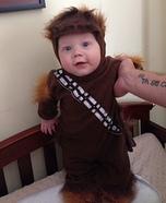 Baby Chewbacca Homemade Costume