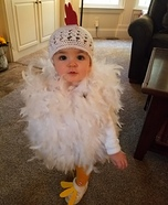 Baby Chick Homemade Costume