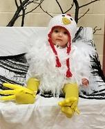 Baby Chicken Homemade Costume