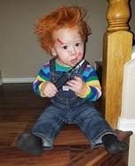 Baby Chuckie Homemade Costume