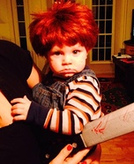 Baby Chucky Homemade Costume