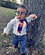 Baby Clark Kent Homemade Costume