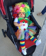 Baby Clown Homemade Costume