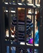 Baby Convict Costume