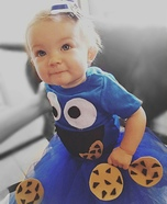 Baby Cookie Monster Homemade Costume