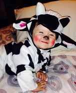 Cute Baby Cow Costume