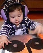 Baby DJ Homemade Costume