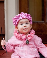 Baby Dolores Umbridge Homemade Costume