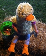 DIY Baby Duck Costume