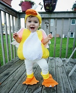 Cutest Baby Duck Costume